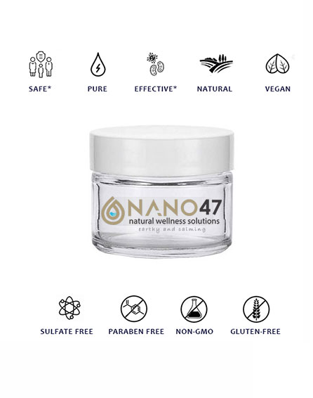 nano47 colloidal cream salve