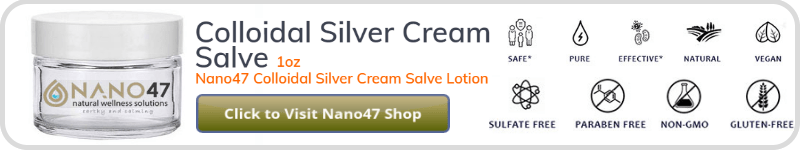 "A product ad within the ""What is a Silver Nanoparticle?"" article."
