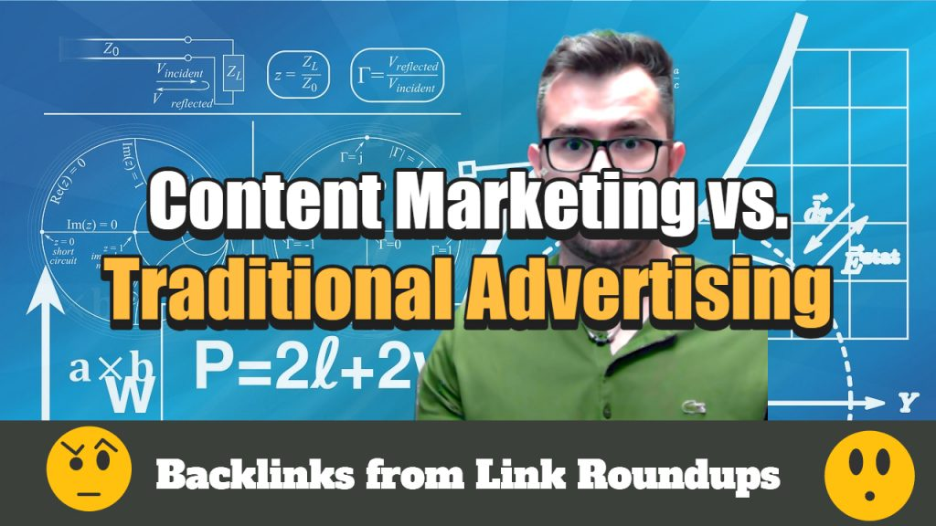 content marketing vs traditional advertising