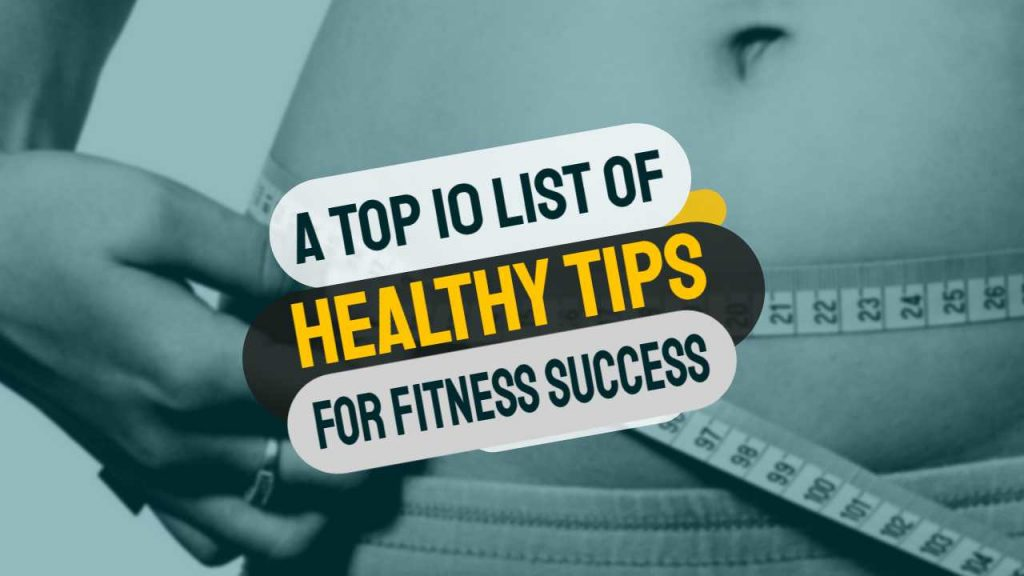 healthy fitness success