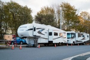 Trailers can be surprisingly large as shown here, and Colorado state has more trailers for sale than most others.