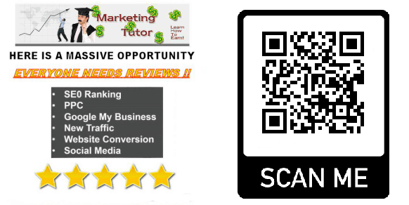 The Marketing Tutor Qr Code Example