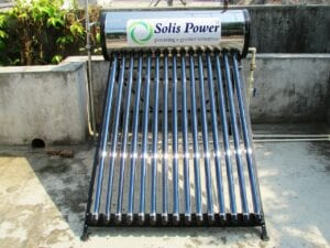 solar-power water heating