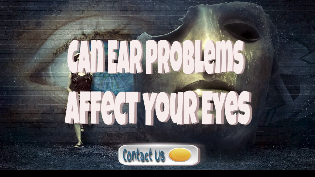 stress can ear problems affect your eyes